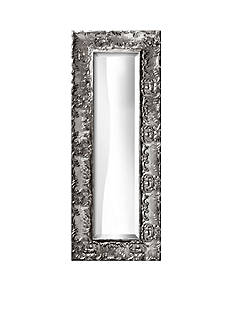 Art.com 14.8-in. W x 36.8-in. H Lavo Silver Wood Framed Mirror