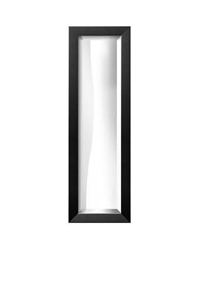Art.com 11-in. W x 33-in. H Berlin Black Wood Framed Mirror - Online Only