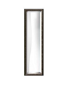 Art.com 9.6-in. W x 31.6-in. H Black Wood Framed Mirror - Online Only