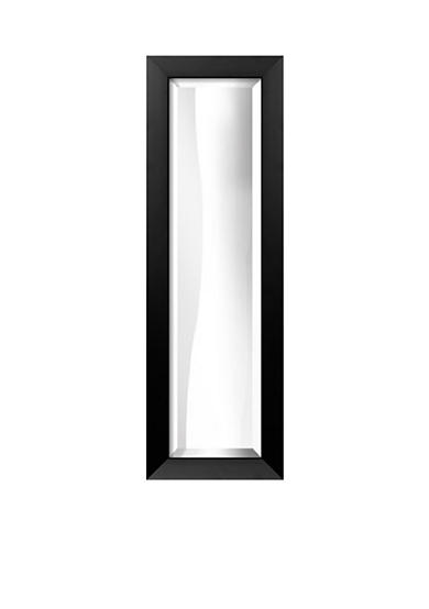 Art.com 11.3-in. W x 33.3-in. H Gramercy Black Wood Framed Mirror - Online Only