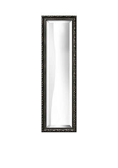 Art.com 10.3-in. W x 32.3-in. H Hampton Black Framed Mirror - Online Only