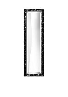 Art.com 10-in. W x 32-in. H Lavo Black Wood Framed Mirror - Online Only