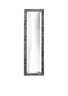 Art.com 10-in. W x 32-in. H Lavo Silver Wood Framed Mirror - Online Only