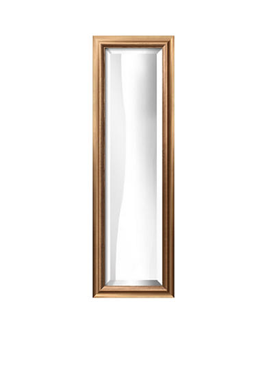 Art.com 10.8-in. W x 32.8-in. H Messina Bronze Wood Framed Mirror - Online Only