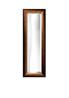 Art.com 11.8-in. W x 33.8-in. H Plato Bronze Wood Framed Mirror - Online Only