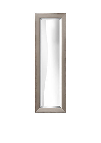 Art.com 10.8-in. W x 32.8-in. H Shabby Chic Gray Wood Framed Mirror - Online Only