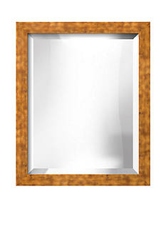 Art.com 18.9-in. W x 22.9-in. H Berlin Gold Wood Framed Mirror - Online Only