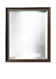 Art.com 18.3-in. W x 22.3-in. H Chloe Brown Wood Framed Mirror - Online Only