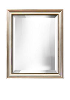 Art.com 19.8-in. W x 23.8-in. H Coventry Silver Wood Framed Mirror - Online Only