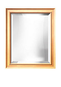 Art.com 19.8-in. W x 23.8-in. H Coventry Gold Wood Framed Mirror - Online Only
