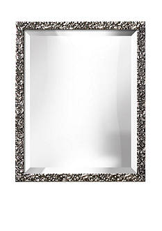 Art.com 18-in. W x 22-in. H Lavo Silver Wood Framed Mirror - Online Only