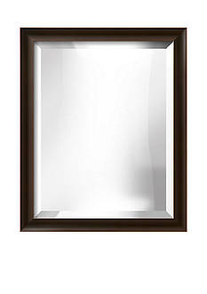 Art.com 18.8-in. W x 22.8-in. H Spada Brown Wood Framed Mirror - Online Only