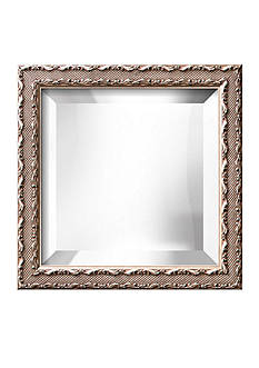 Art.com 12.3-in. W x 12.3-in. H Ambrosia Silver Wood Framed Mirror - Online Only