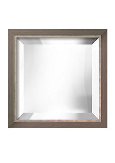 Art.com 11.6-in. W x 11.6-in. H Basel Silver Wood Framed Mirror - Online Only