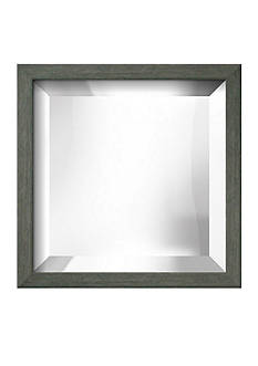 Art.com 11.3-in. W x 11.3-in. H Chelsea Gray Wood Framed Mirror - Online Only