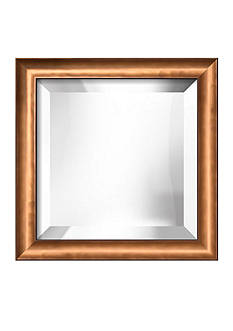Art.com 12.1-in. W x 12.1-in. H Cirrus Bronze Framed Mirror - Online Only