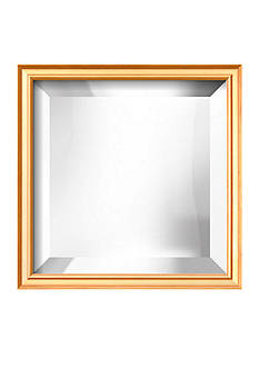 Art.com 11.3-in. W x 11.3-in. H Coventry Gold Wood Framed Mirror - Online Only