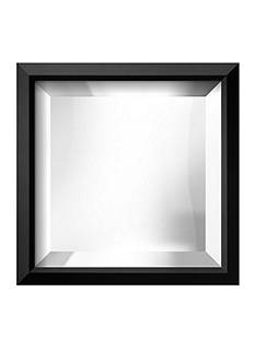Art.com 11.5-in. W x 11.5-in. H Eastman Black Wood Framed Mirror - Online Only