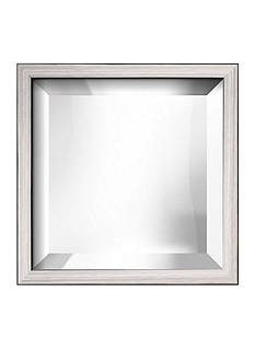 Art.com 11.3-in. W x 11.3-in. H Eastman Silver Wood Framed Mirror - Online Only