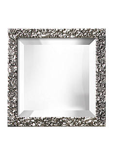 Art.com 12-in. W x 12-in. H Lavo Silver Wood Framed Mirror - Online Only