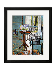 Art.com Forget-Me-Nots in the Window, Framed Giclee Print - Online Only