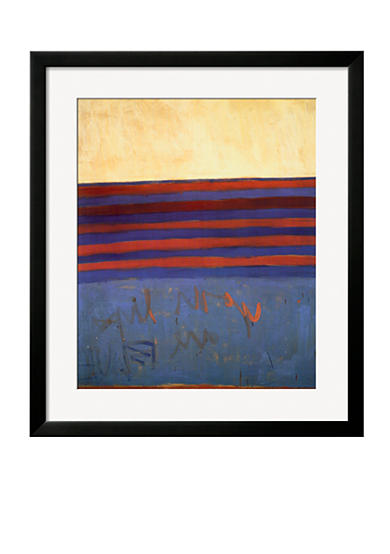 Art.com Your Lips Are Blue, c.1958 by Frank Stella, Framed Art Print