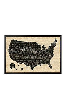 Art.com USA V, Framed Art Print - Online Only