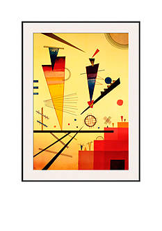 Art.com Merry Structure, Framed Art Print