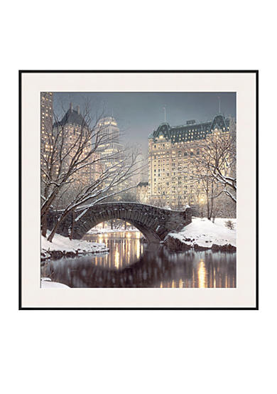 Art.com Twilight in Central Park, Framed Art Print - Online Only