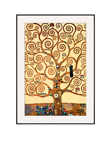 Art.com The Tree of Life, Stoclet Frieze, c.1909, Framed Art Print - Online Only