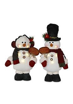 Santa's Workshop 16-in. LED Snowmen
