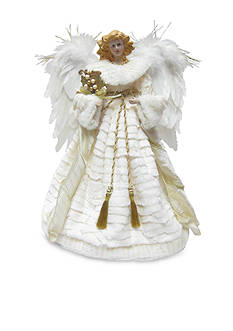 Santa's Workshop 16-in. Snowangel Tree Topper