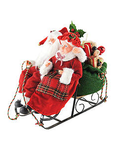 Santa's Workshop Mr. & Mrs. Sleigh Ride Together