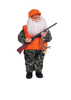 Santa's Workshop 15-in. Deer Hunter Santa