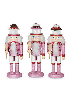 Santa's Workshop Cupcake Nutcrackers