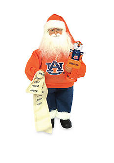 Santa's Workshop 15-in. Auburn Santa with Nutcracker