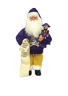 Santa's Workshop 15-in. East Carolina Santa with Nutcracker