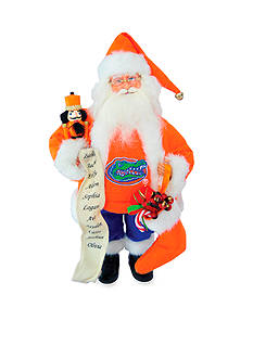 Santa's Workshop 15-in. Florida Gators Santa - Online Only