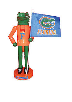 Santa's Workshop 12-in. NCAA Florida Gators & Flag Nutcracker