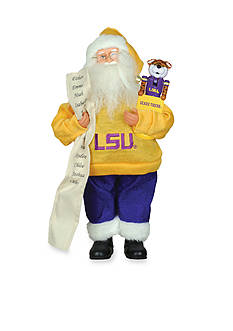 Santa's Workshop 15-in. LSU Santa With Nutcracker