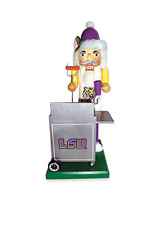 Santa's Workshop 12-in. LSU Tigers Tailgating Nutcracker