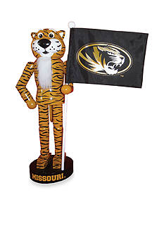 Santa's Workshop 12-in. NCAA Missouri Tigers & Flag Nutcracker