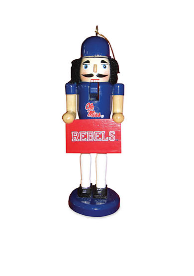 6-In. NCAA Ole Miss Rebels Nutcracker Ornaments.II