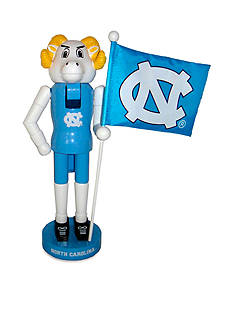 Santa's Workshop 12-in. University of North Carolina Mascot and Flag Nutcracker
