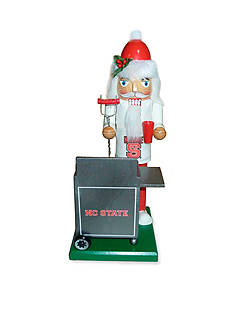 Santa's Workshop 12-in. NC State Wolfpack Tailgating Nutcracker