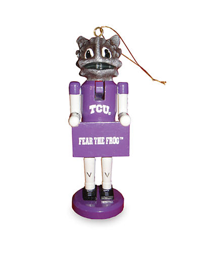 6-in. TCU Horned Frogs Ornament Set