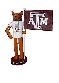 Santa's Workshop 12-in. NCAA Texas A&M Aggies & Flag Nutcracker