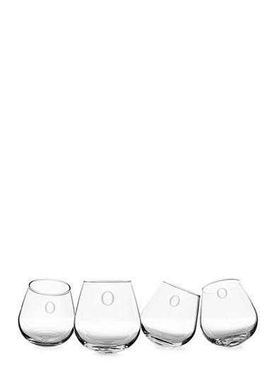 Cathy's Concepts Personalized Tipsy Wine Glasses (Set of 4)