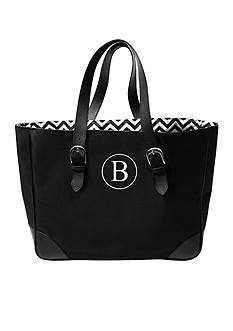 Cathy's Concepts Personalized Chevron Buckle Tote Bag