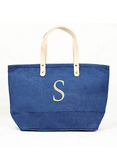 Cathy's Concepts Personalized Blue Nantucket Tote